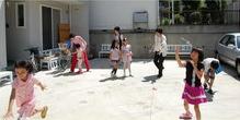 •2013年6月16日八事教会教会学校合同分級-牛乳パックでブーメラン作り13