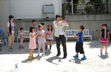 •2013年6月16日八事教会教会学校合同分級-牛乳パックでブーメラン作り11