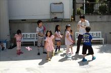 •2013年6月16日八事教会教会学校合同分級-牛乳パックでブーメラン作り10