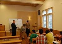 2015年度日本キリスト改革派八事教会教会学校進級式