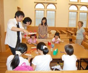 日本キリスト改革派八事教会「おはなし&工作お楽しみ会」