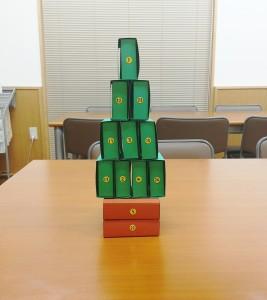 日本キリスト改革派八事教会教会学校「アドベントカレンダー作り」