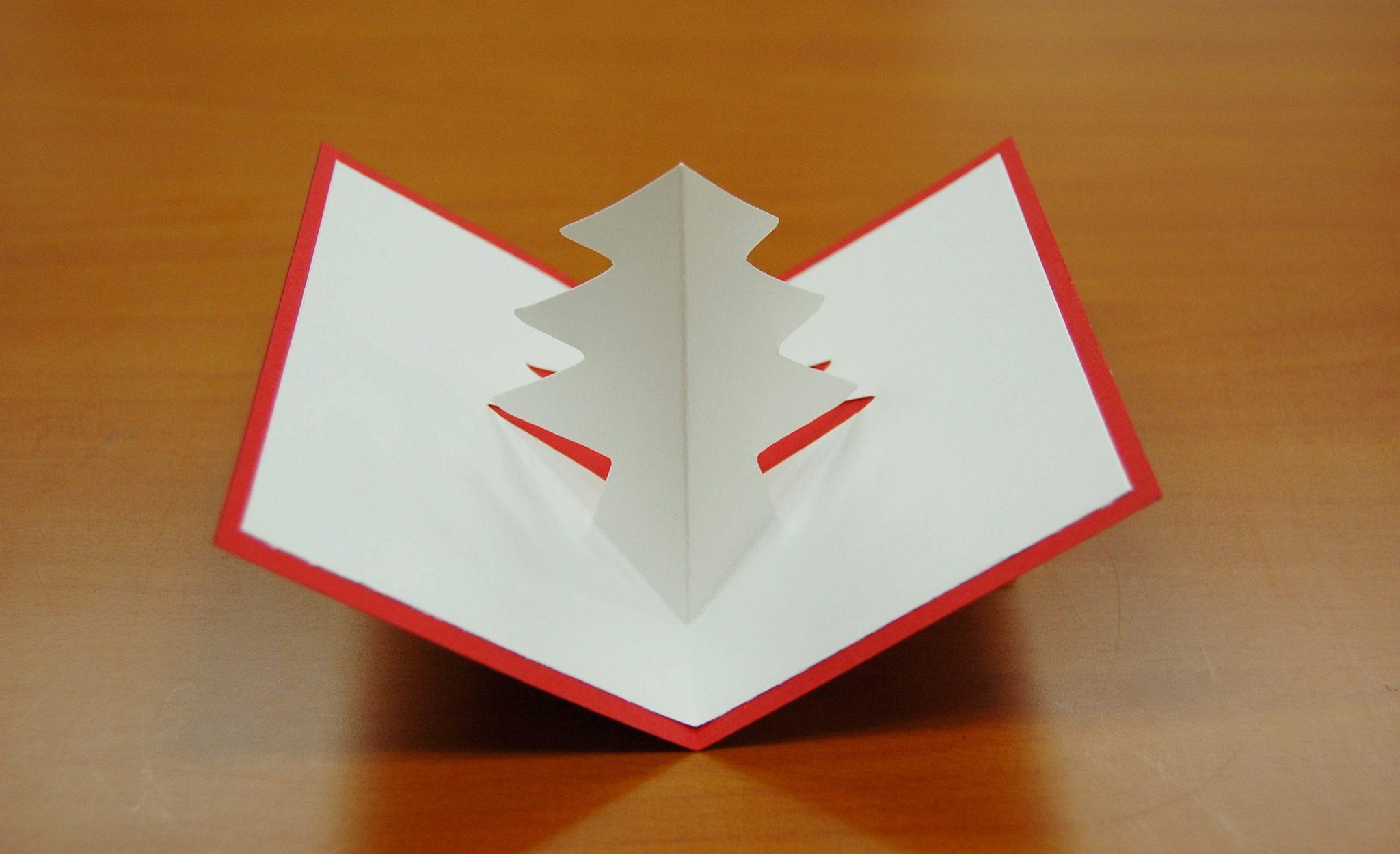 日本キリスト改革派八事教会 2013年子どもクリスマス会 工作「飛び出すクリスマスカード作り」