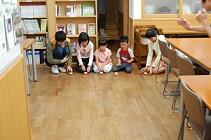 日本キリスト改革派八事教会教会学校工作「糸巻き車作り&競争」1