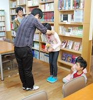 日本キリスト改革派八事教会教会学校工作「糸巻き車作り&競争」3