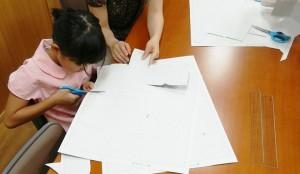 日本キリスト改革派八事教会 教会学校合同分級工作 キューブパズル2